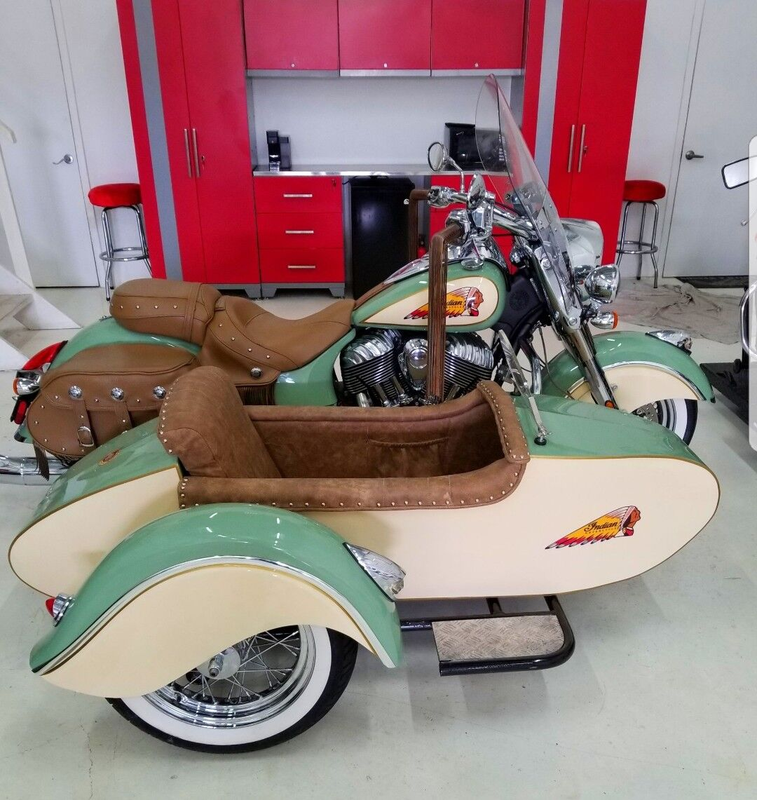 2014 Indian Chief  Indian Motorcycle With Sidecar