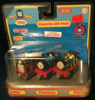 LC76450 Learning Curve Thomas & Friends Take Along - Steamies Gift Pack (2006)