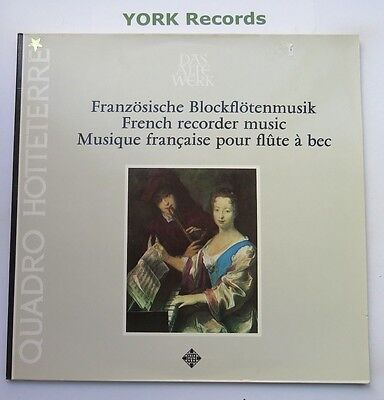 6.41927 - FRENCH RECORDER MUSIC - Excellent Condition LP - French Recorder Music