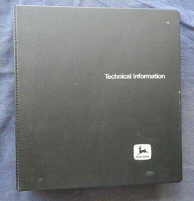 John Deere 6600 7700 Combine Service Repair Technical Manual Acceptable