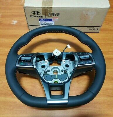 NEW OEM D-Cut Steering Wheel ASSY w/ Heated For 2014-2017 Sonata 56110C1920NNG