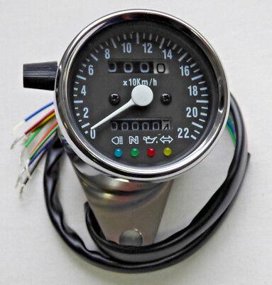 Mini Tachometer Universal Motorrad Honda Kawasaki Suzuki Yamaha Harley Ducati online kaufen