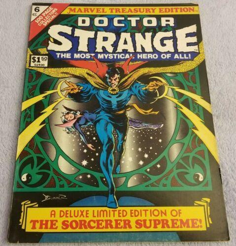 Doctor (Dr.) Strange # 6 (1975) - Marvel Treasury Edition Comic - LARGE Book