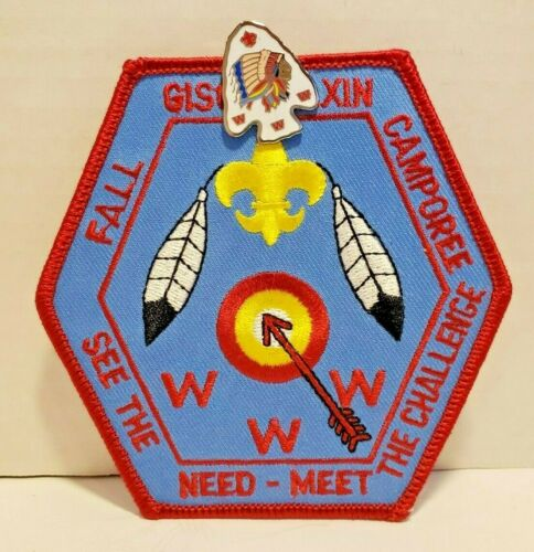 Gischenaxin Fall Camporee Patch and Pin