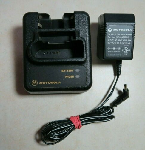 Motorola NYN8346A NYN8354A Battery Charger for Minitor III IV Pager