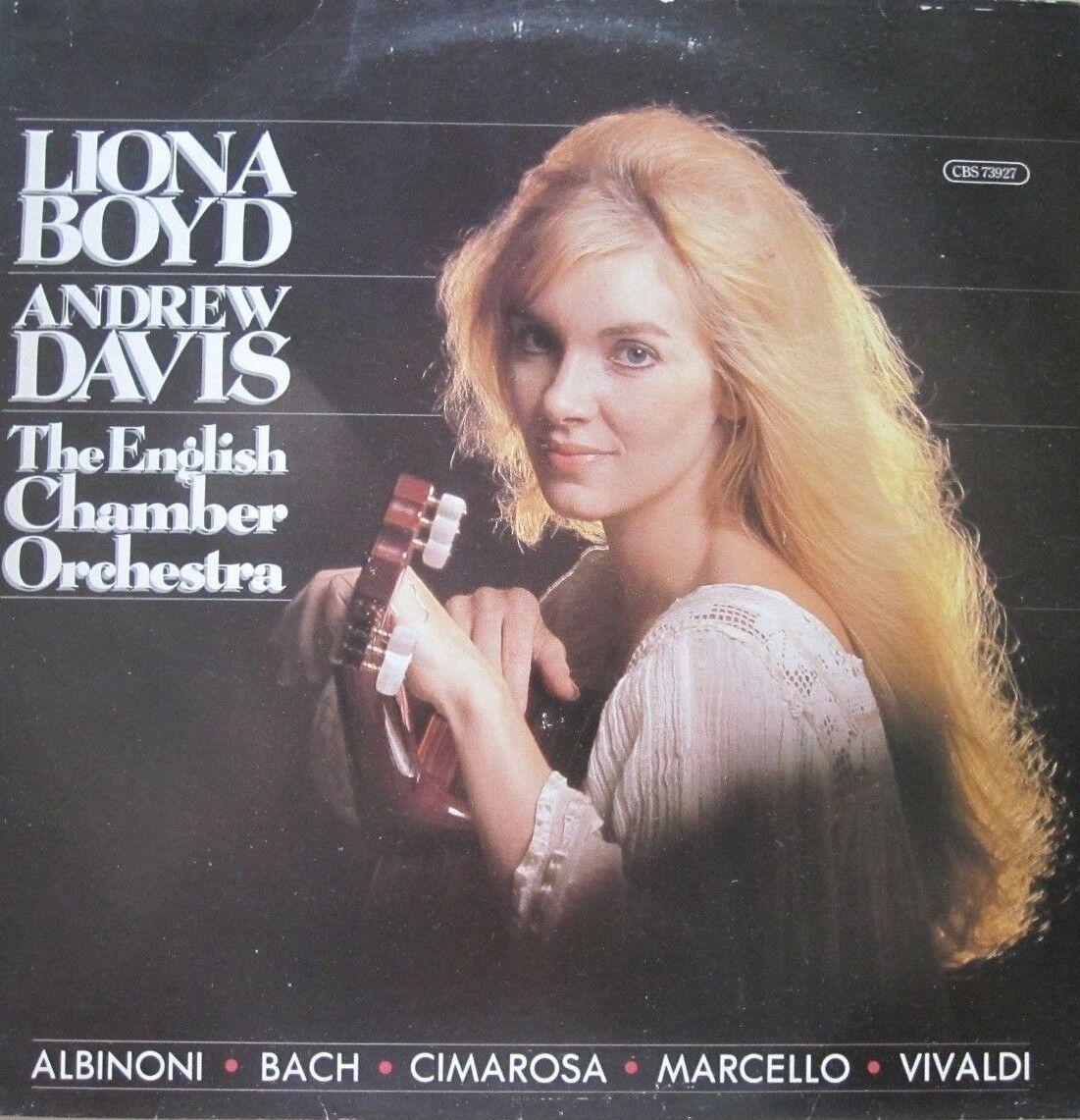 LIONA BOYD/ANDREW DAVIS - BAROQUE COMPOSITIONS - LP