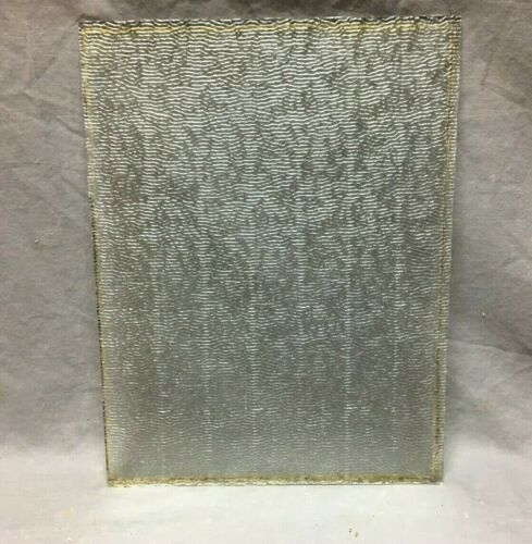 Antique Textured Privacy Window Glass 12X16 Old Pane Replacement 56-20B