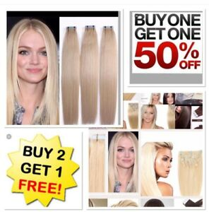 *BOGO SALE  TAPE-IN HAIR Extensions  BUY 2 Get 1 FREE