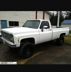 Looking for a k10,k20 Chevy 1980's