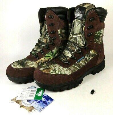 Broken ITASCA Tower 400g Realtree Edge Waterproof Hunting Boots Men's Size 9.5