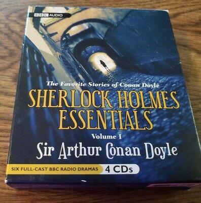 SHERLOCK HOLMES ESSENTIALS - VOL 1 - SIR ARTHUR CONAN DOYLE  - Audio Book - CD  ()