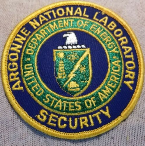 US Department of Energy Argonne National Laboratory Security Patch