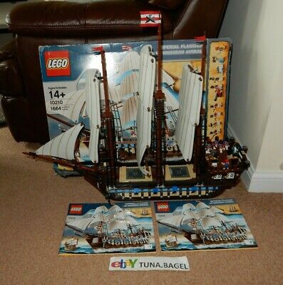 Lego Creator Expert Imperial Flagship (10210) 100% Complete Box Instructions
