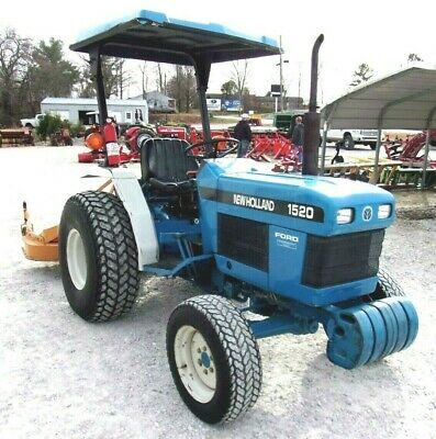 New Holland 1520 4x4 With Woods Finish Mower - Free 1000 Mile Delivery From Ky