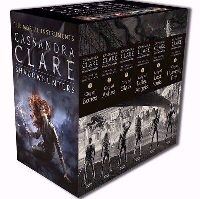 The Mortal Instruments 6 Books Complete Collection Box Set By Cassandra Clare