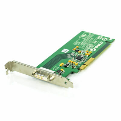 Dell Dvi Adapter Card - Dell Silicon Image DVI PCI-E Video Graphics Adapter Card KH276DV1
