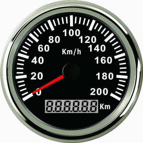 IP67 Auto Motorrad GPS Tachometer Geschwindigkeitsmesser Kilometerzähler 200KM/H