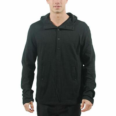 Men's PUMA x HUSSEIN CHALAYAN Half Placket Hoodie Black $118