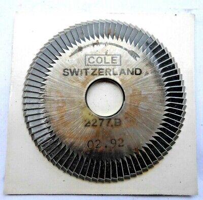 New  2277.b Key Cutting Wheel Blade For Cole Key Machine