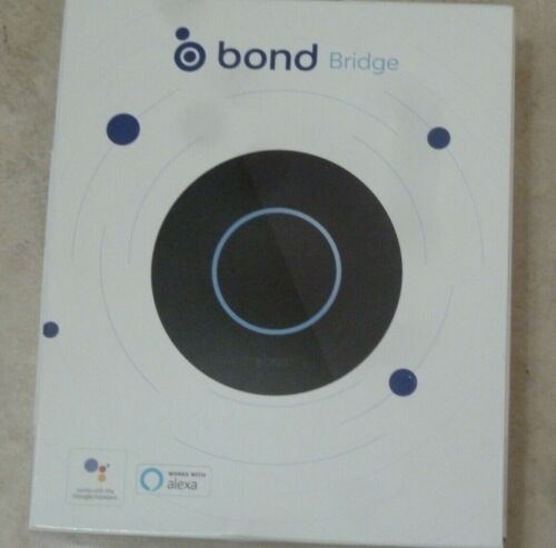 BOND BRIDGE BD-1000 Smart Ceiling Fan Control Home WiFi Remote Hub Alexa-NEW