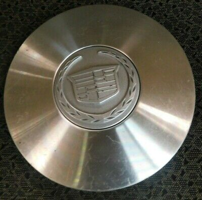 Cadillac Deville 2000-2005, DTS 2006-2011 OEM Factory Center Cap Brushed 9594261