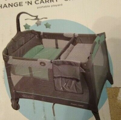Graco Pack 'n Play Change 'n Carry Playard with Bassinet, Manor NEW (other)