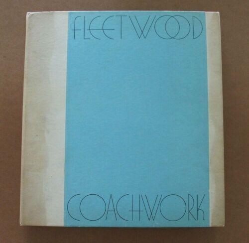 "CADILLAC 1930 ""FLEETWOOD COACHWORK"" PORTFOLIO. 13""x13"" HARD COVER - COMPLETE & R"