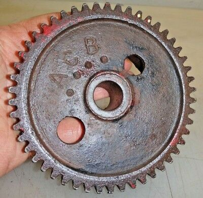 Cam Gear For Associated United Hit And Miss Old Gas Engine Part No. Acb