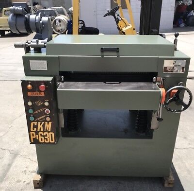 4 Blade 24 Wood Planer Ckm P-630 3 Phase 10 H.p. 220v