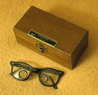 Designs For Visions Surgical Telescope Loupe Vintage Glasses P-p Spacing 56mm