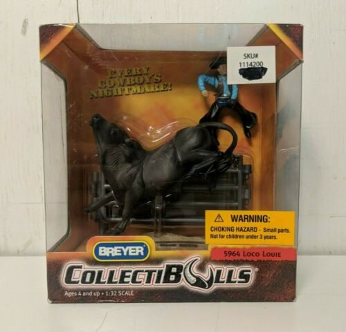 Breyer CollectiBulls #5964 Loco Louie