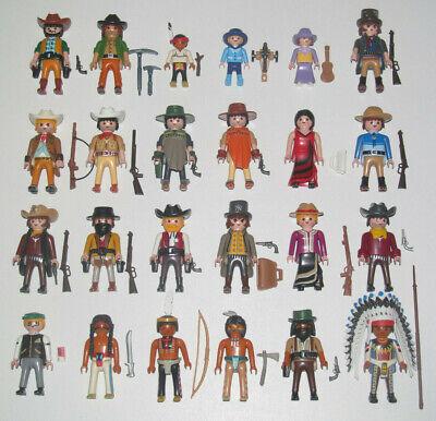 Playmobil Figurine Personnage Cow Boy Westerns + Accessoires Modèle au Choix NEW