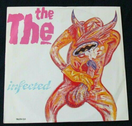 The The - Matt Johnson - Infected 12 single Banned Wanker Cover 1986 UK