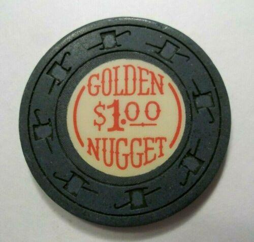 ✔ GOLDEN NUGGET Casino Chip Vintage Las Vegas Nv Nevada Obsolete LQQK