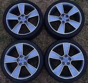4x Ford Falcon FG XR6 XR50 turbo Premium upgrade wheels 19 GREY Epping Whittlesea Area Preview