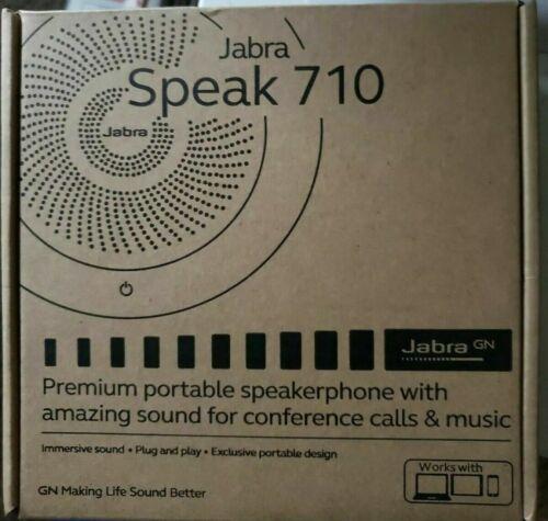 Jabra Speak 710 Portable Speaker for Music and Calls  NEW