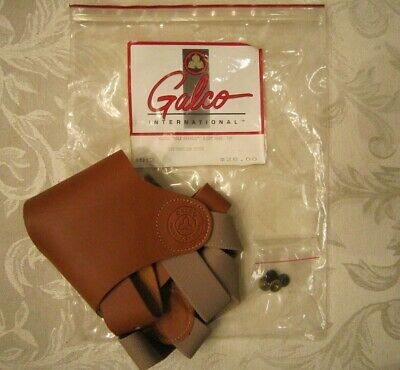 Galco shoulder holster half harness right hand HH2 tan NEW in plastic bag Leather Half Harness