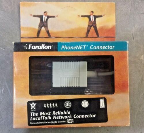 NEW Farallon PhoneNET Apple Mac Serial 2-Port RJ-11 Localtalk /Appletalk Adapter