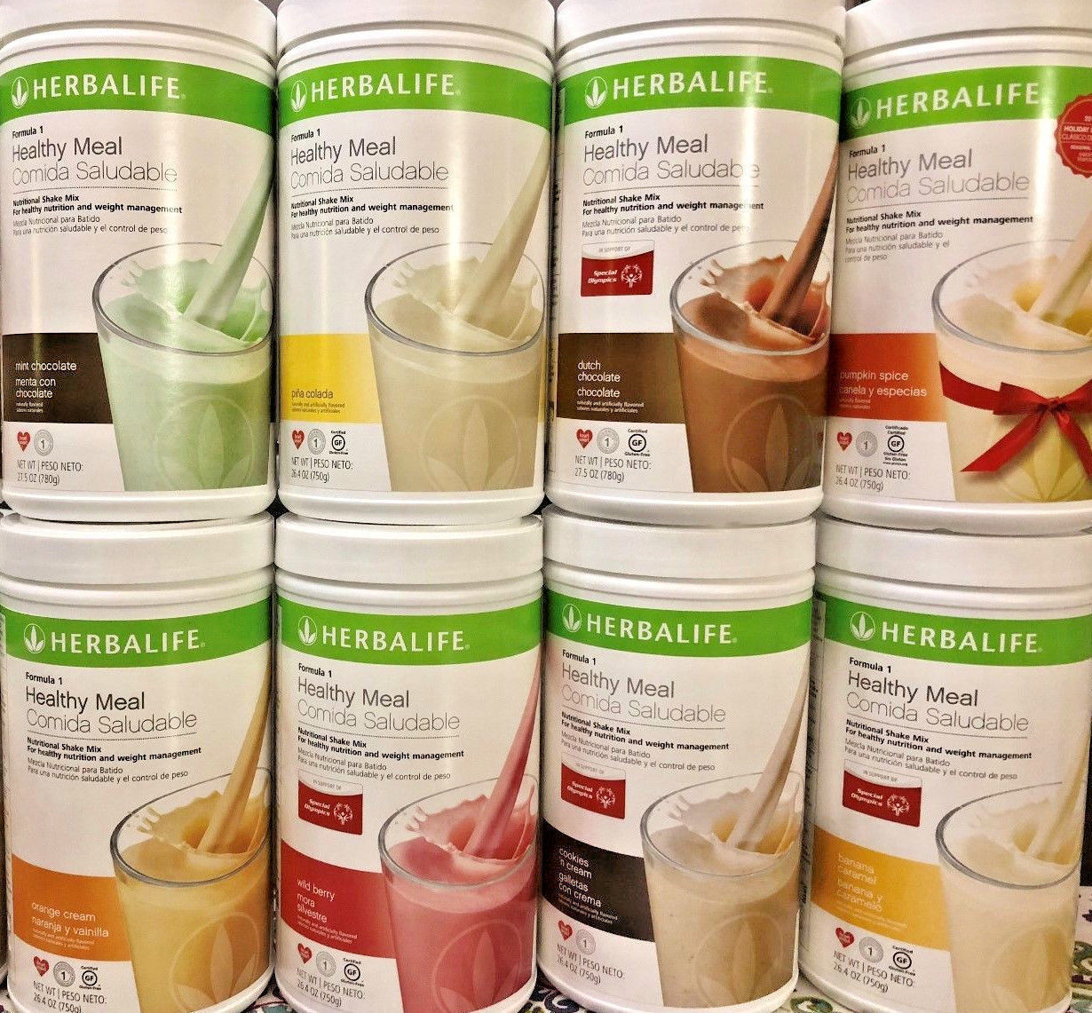 NEW Herbalife Formula 1 Healthy Meal Nutritional Shake Mix 1