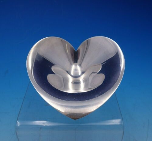 Faneuil by Tiffany and Co Sterling Silver Dish Heart Shaped #23675 (#4691)
