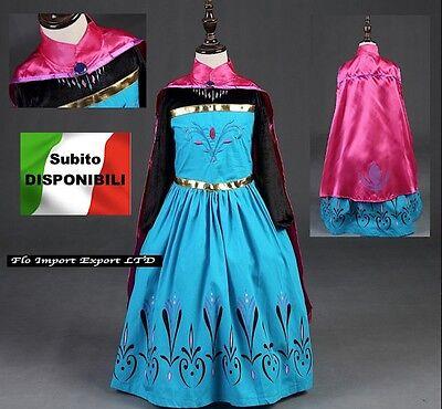 Frozen Kleid Maske Karneval Krönung Elsa Mädchen Kleid Up Kostüm - Elsa Krönung Kleid Kostüm