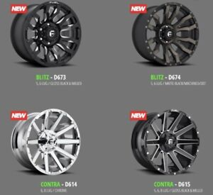 GET YOUR FUEL WHEELS!  OFF-ROAD AGGRESSIVE OFFSETS!