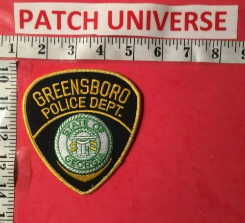 CITY OF GREENSBORO  GEORGIA  POLICE  SHOULDER PATCH  S009