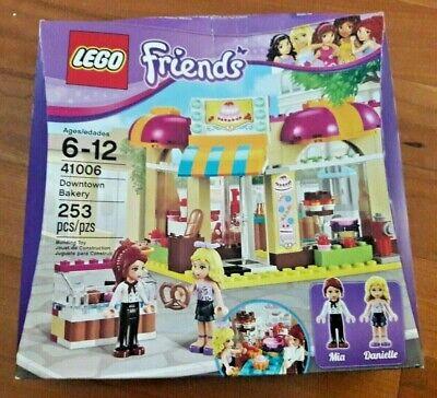 👭 LEGO Friends Downtown Bakery 41006 New NIB Mia Danielle