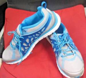 RYKA Gray & Blue Lightweight Athletic Shoes Sneakers Size 8.5 Concord West Canada Bay Area Preview