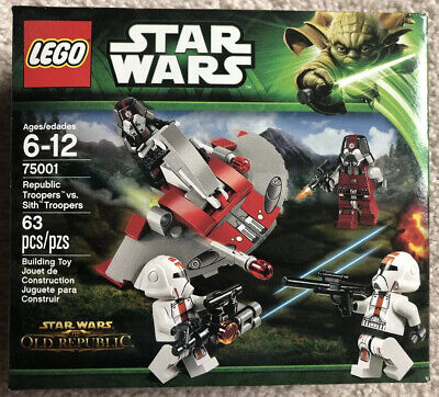 LEGO Star Wars Republic Troopers vs. Sith Troopers (75001)