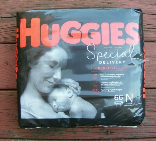 New! - Huggies Special Delivery Hypoallergenic Baby Diapers - 66 ct - Size N