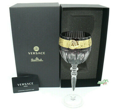 Versace Gala Prestige Purple-Medusa Rotwein Glas/ Red wine glass by Rosenthal