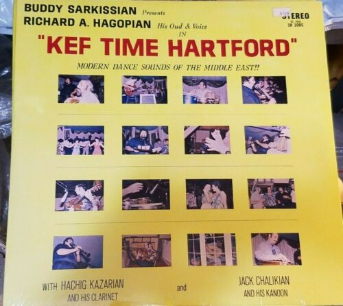 KEF TIME HARTFORD RICHARD HAGOPIAN MUSIC of the MIDDLE EAST STEREO RECORD SEALED