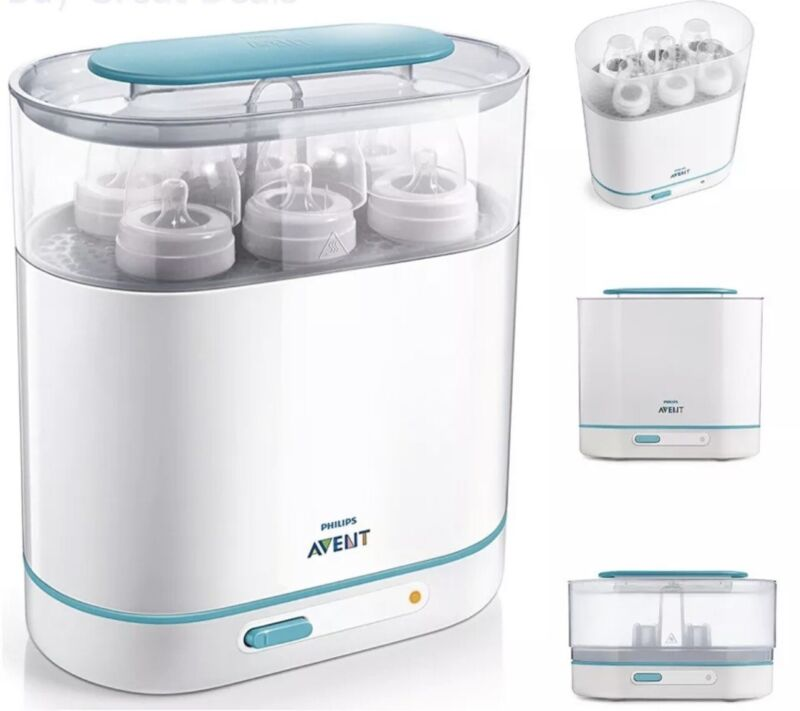 Philips Avent 3-in-1 Electric Steam Sterilizer for Baby Bottles
